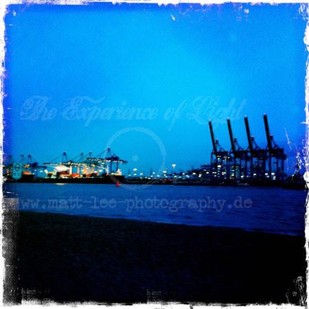 Hafen-Dämmerung