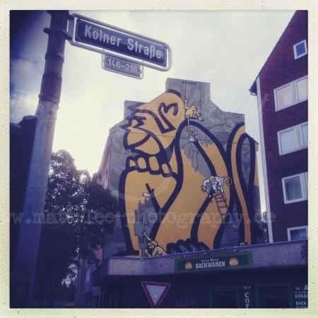 Kölner Straße in Düsseldorf