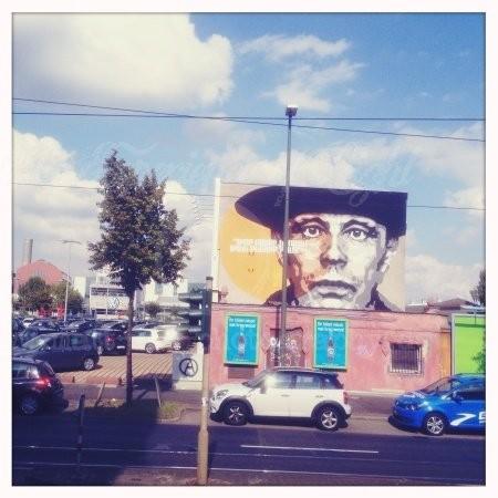 Joseph Beuys on the road
