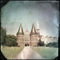 Holstentor grunge