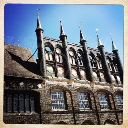 Hanseatische Hauswand