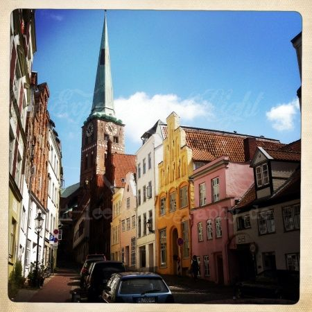 Lübeck bei Schönem Wetter