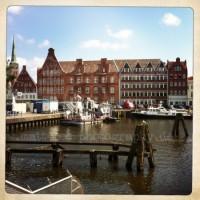Hanseatisches Haus am hafen