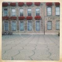Pflastersteine am Rathaus