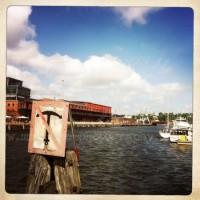 sicht auf Hafen