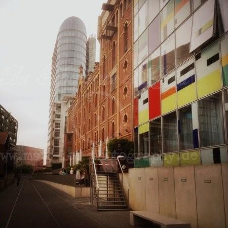 Bunte Seitenstraße