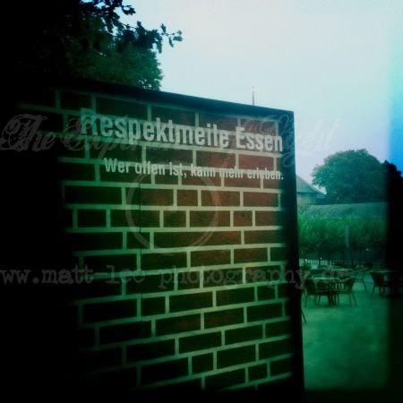 Respektmauer