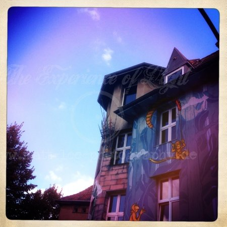 Haus in Blau