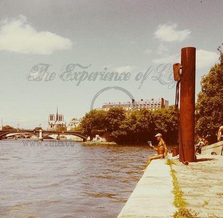 Paris an der seine