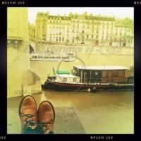 Ufer der Seine
